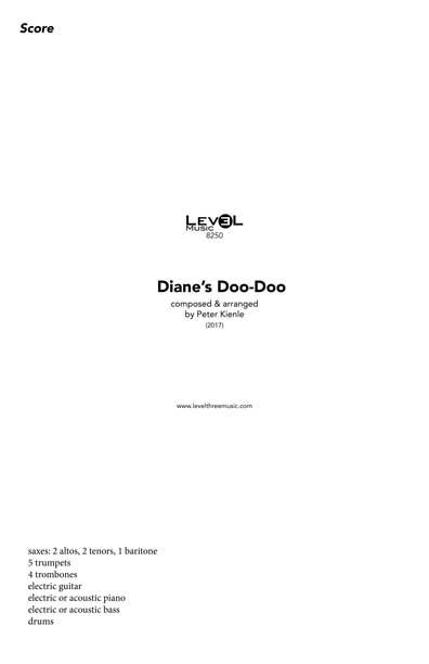 Dianes Doo Doo (Big Band)