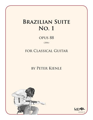 Brazilian Suite No 1 for 6 string guitar