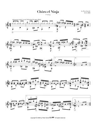 Brazilian Suite No 1 for 6 string guitar
