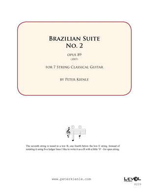 Brazilian Suite No 2 for 7 string guitar