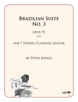 Brazilian Suite No 3 for 7 string guitar