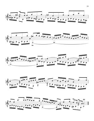 Bach Inventions for 7 string guitar