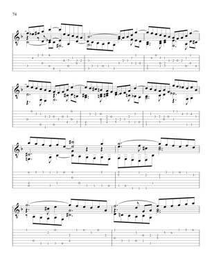 Well Tempered Clavier for 7 String Guitar Vol 1