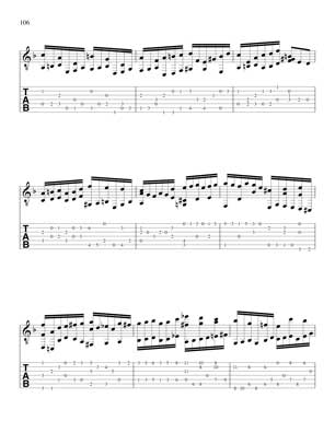 Well Tempered Clavier for 7 String Guitar Vol 3