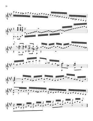 Well Tempered Clavier for 7 String Guitar Vol 4