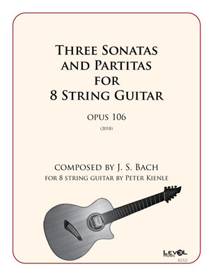 Three Sonatas And Partitas For 8 String Guitar